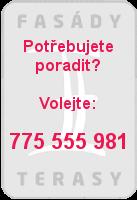 Telefonní kontakt Fasády&Terasy s.r.o.