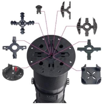 Rektifikační terč BUZON PB série - hlava s příslušenstvím