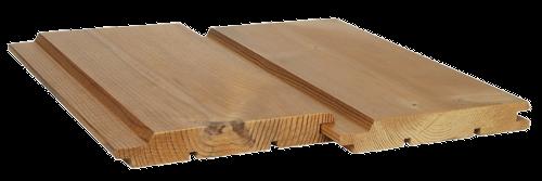 Fasádní obklad UTV KLASIK 19x140 mm pro dřevěné fasády Thermowood