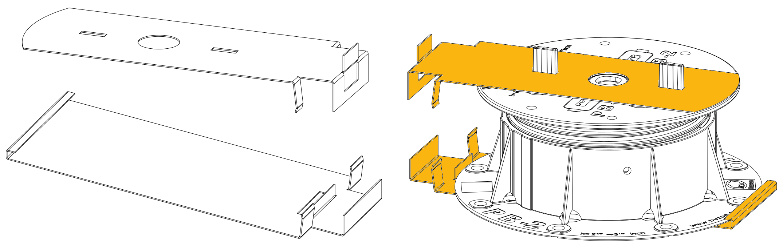Nákres BUZON PB zakončení pro keramickou dlažbu
