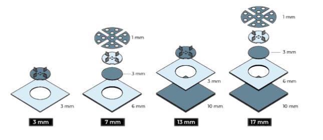Příklady možné kombinace U-GROUND s dalším příslušenstvím BUZON