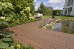 Dvoubarevná dřevoplastová terasa z WPC prken Likewood 23
