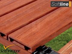 Montáž venkovní dřevěné terasy se systémem Softline