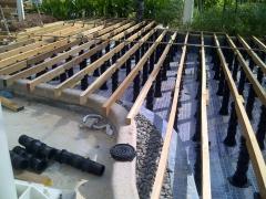 rektifikační terče pod terasy