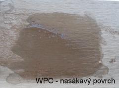 Nasákavý povrch běžných wpc prken