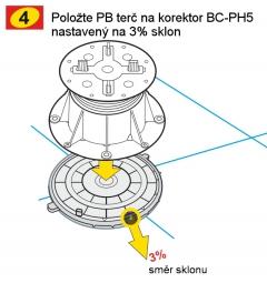 Instalace rektifikačního terče