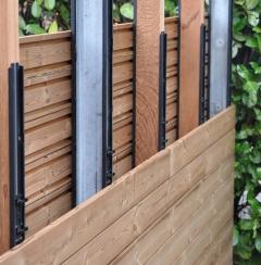 Ukázka systému Techniclic pro dřevěné provětrávané fasády