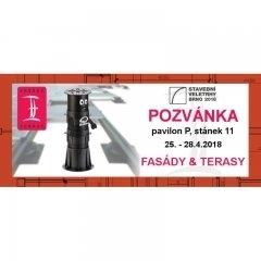 Pozvánka IBF 2018 - Fasády & Terasy