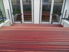 Klasická montáž terasy skrz prkno 2