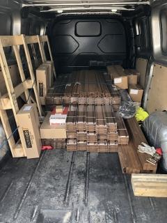 Chystáme dodávku dřevěné fasády Techniclic pro zákazníka