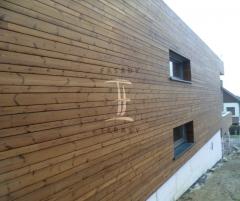 Dřevěná fasáda Techniclic z thermowood borovice severské