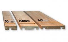 Dřevěné fasádní obklady