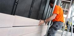 Montáž dřevěných obkladů pomocí skrytého systému uchycení Techniclic®