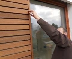 Dřevěné fasády Vetedy se systémem uchycení Techniclic®