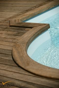 Dřevěná terasa Softline, dřevina teak