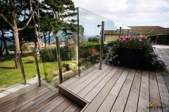 Dřevěné schody na terasu, Softline, Ipe (Vetedy)