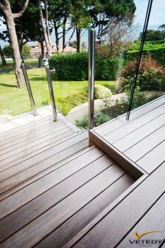 Dřevěná terasa Softline, dřevina IPE