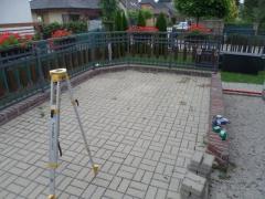 Venkovní terasa před realizací terasy z wpc desek