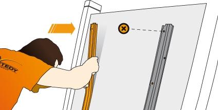 Instalace držáku klipů Techniclic