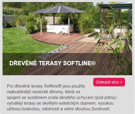 dřevěné terasy Softline odkaz do kategorie