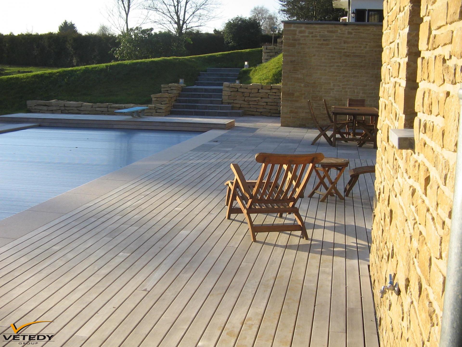 Dřevěná terasa z teaku