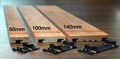 Dřevěná fasádní prkna Techniclic