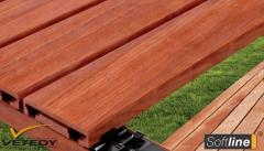 Dřevěná terasová prkna Softline®
