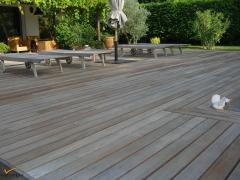 Dřevěná terasa Softline - IPE