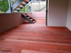 Dřevěná terasa Softline - Padouk