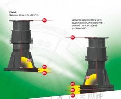 Použití sklonového korektoru BC-PH5