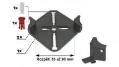 Držák roštu BC-KIT 35 - 90 mm pro terče BUZON