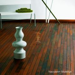 Navylam+ dřevěná podlaha do koupelny z Mutenye