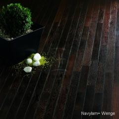 Navylam+ dřevěná podlaha do koupelny z Wenge
