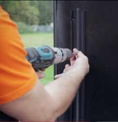 Montáž držáku klipů Techniclic