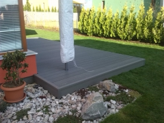 WPC terasa šedá