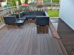 Realizace WPC terasy Likewood 23 odstín ořech