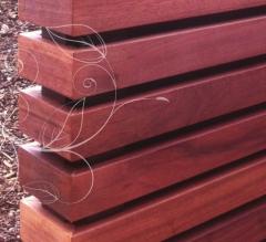 Dřevěné obložení Techniclic s mezerníky