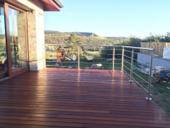 Dřevěná terasa Softline IPE (ČR)