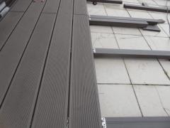 Detail z instalace wpc prken