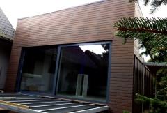 Dřevěný obklad fasády Thermowood SSS rhombus 20x92 mm