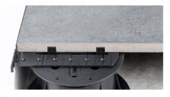 Buzon U-WALL použití pod dlažbou