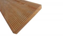 Dřevěné terasové prkno Garapa 21 x 140/145 mm