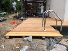 Realizace dřevěné terasy Garapa 2018