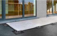 Použití systému U-GROUND pro podepření dlažby v nízkých prostorech