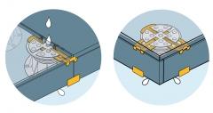 Nový PB-END PP - ilustrace použití na boku i v rohu terasy