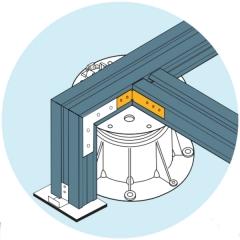 Ilustrace použití U-BRS-CONNECTORU