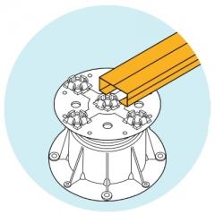 U-BRS-WOOD ilustrace použití