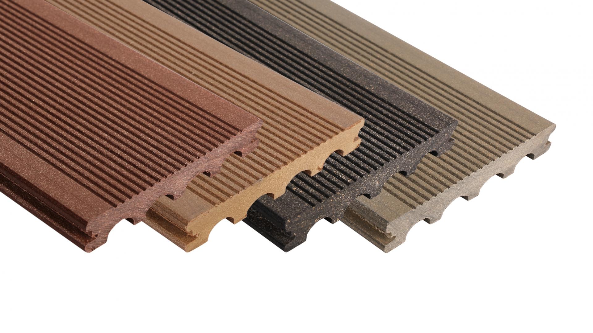 WPC terasy - terasová prkna wpc Silvadec - plný profil