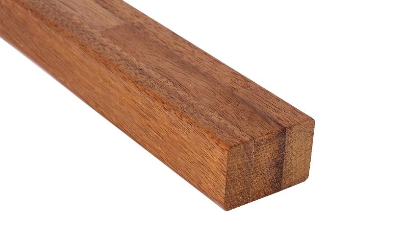 Podkladní hranol z exotického dřeva Merbau 40x60 mm