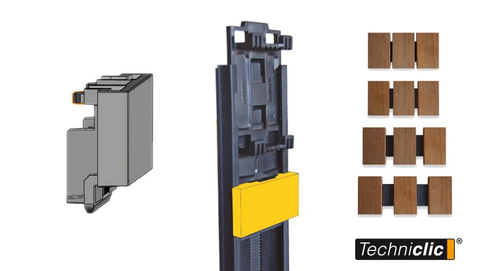 Provětrávané fasády Techniclic® - Mezerníky | Fasády&Terasy